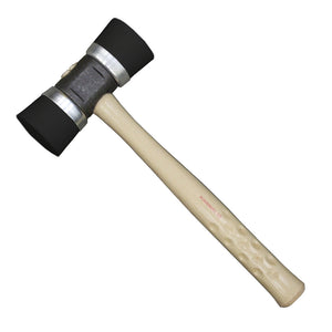 Powernail 06-5MIBB 5MI Black Rubber Mallet, Double Cap 4.1 LB