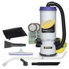 Proteam 107423 Super CoachVac 10 qt. Backpack Vacuum w- Small Business Tool Kit