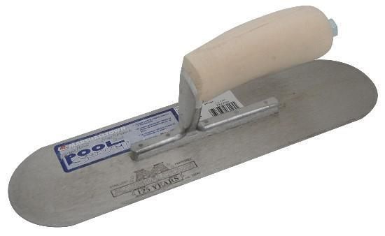 Marshalltown 13145 12 X 3 1-2 Pool Saver Trowel-Wood Handle