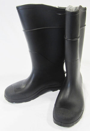 Marshalltown 14079 Black Plain Toe Boots-Over the Foot-Size 11