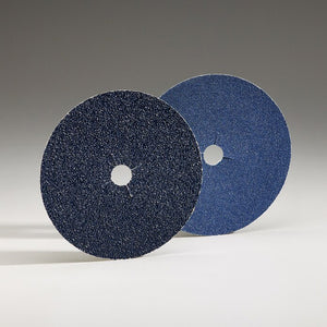 Norton Blue Fire Sandpaper Floor Bolt On Edger Disks - 25 Per Box