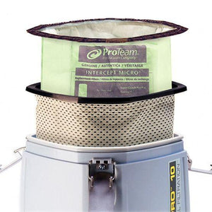 ProTeam Vacuum 834000 Micro Cloth Filter, Fits Triangular 10 qt.