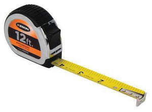 Keson PG1012 12' x 5-8 Measuring Tape FT., 1-10, 1-100