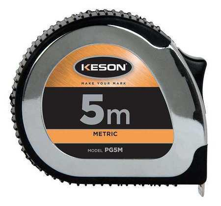 Keson PG5M 5M' x 1 inch Measuring Tape M, CM, MM