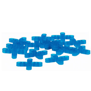 Barwalt 16041 Hollow Leave-In Tile Spacers - 1-4 Inch + 100 Pieces