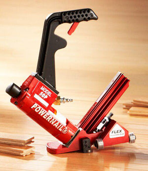 Powernail 50P 50PFLEXPRXLSW Flex 18 Gauge Wood Flooring Nailer With Flex Power Roller