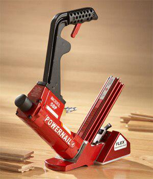 "Powernail 50p Flex 18 Gauge Wood Flooring Nailer, 1"" to 1-3-4"""