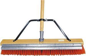 "Marshalltown 20454 Asphalt 24"" Broom with  Scraper"