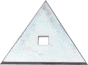 "Marshalltown 19692 Paint & Wall-Covering 2 1-4"" Triangle Blade"