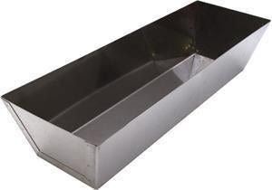 "Marshalltown 14657 12"" Stainless Steel Drywall Mud Pan"