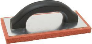 "Marshalltown 10755 9 X 4"" Red Rubber Float - Fine"