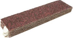 Marshalltown 15748 Exterior insulation and finish system 4 X 14 12-Grit Rasp Sandpaper with Pressure Sensitive Adhesive (10 Sheets-Bag)