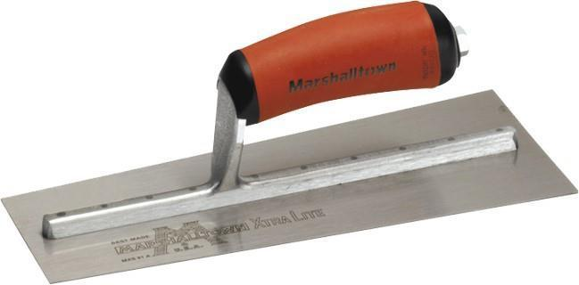 "Marshalltown 12141 EIFS 10 1-2"" Insulator's Trowel-Curved  DuraSoft Handle"