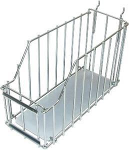 Marshalltown 16078 Small Wire Basket-Solid Bottom