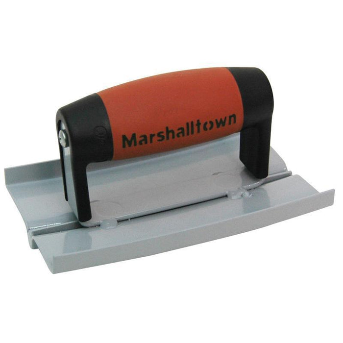 Marshalltown 11790 Concrete 6 X 3 1-2 Rocker Groover DuraSoft Handle