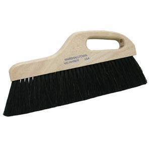 "Marshalltown HH987F 12"" Horsehair Finishing Broom-Extra Fine"