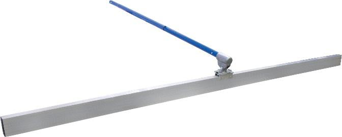 Marshalltown 10534 Concrete Magnesium Bump Cutter 2 X 4 X 6' Kit, 3 ea 6' Swaged Push Button Poles & Twister Bracket