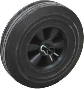Marshalltown 27284 Replacement Wheel (with washer and cotter pin) for MIX3 Concrete Mixer, Single