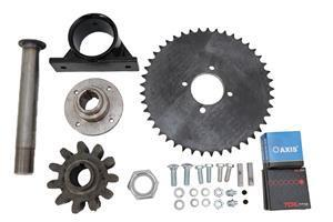 Marshalltown 27796 Drive Sprocket Assembly For 600 Concrete Mixer