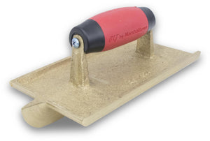 Marshalltown 10432 Concrete Bronze Groover; 7 1-2 X 4 1-2;1 1-2D, 1-2W, 1-4R-Resilient Handle