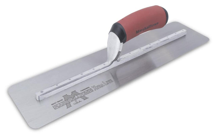 Marshalltown 12140 Concrete 14 X 4 Silo Trowel-Curved DuraSoft Handle