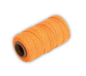 "Marshalltown ML570 Twisted Nylon Mason's Line 250' Fl Orange, Size 18 4"" Core"