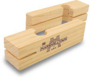 "Marshalltown 86 3 3-4"" Masonry Wood Line Blocks (Pair)"