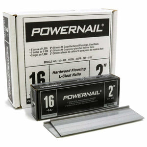"Powernail L-200165 16 Gage 2"" Powercleats (5,000-box)"