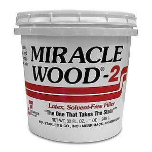 Miracle Wood Latex Wood Filler 32 Oz