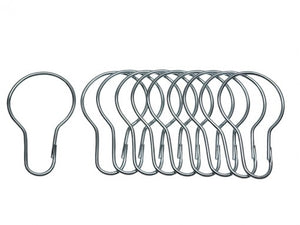 1 in. Shower Curtain Hooks (12 per Card)