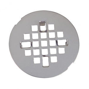 4-1/4 in. Snap-In Shower Drain in Stainless Steel