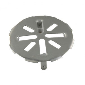4 in. OD Snap-In Drain Strainer for 3 in. Pipes in Stainless Steel