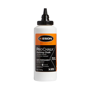 Keson 8BLACK 8 Oz Black Prochalk