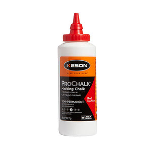 Keson 8R Marking Prochalk Level 3 Semi-Permanent Red 8oz