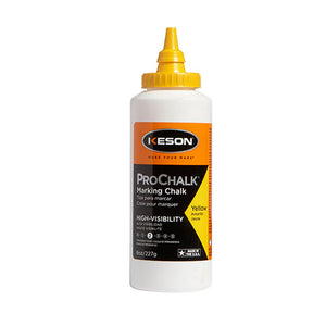 Keson 8Y 8 Oz. Yellow Prochalk