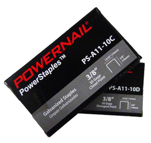 "Powernail PS-5010C 5-16"" Chisel Point Staples (5,000-box)"