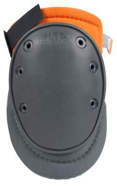 AltaFLEX 50450.50 GEL Gray & Orange Flexible Cap AltaGrip Knee Pads