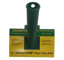DuraTool 8036 Durafoam Floor Applicator 6 Inch Trim Pad Complete