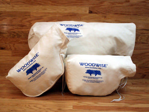 Woodwise Dust Collection Bags - Double Bottom Edger Bag