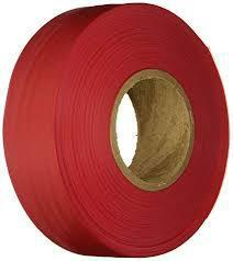 Keson FTGR Glo- Red ( 1 3-16 X 150') Flagging Tape