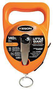 Keson G140FL Little Giant  Chalk Line Reel 140' Fine Line