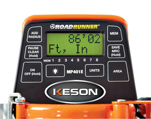 Keson MP401E Metal Professional 4' Electronic Measuring Wheel