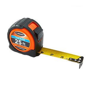 Keson PG18M25WIDEV 25 ft.-7.5m ft, in, 1-8, 1-16 & cm, mm Measuring Tape