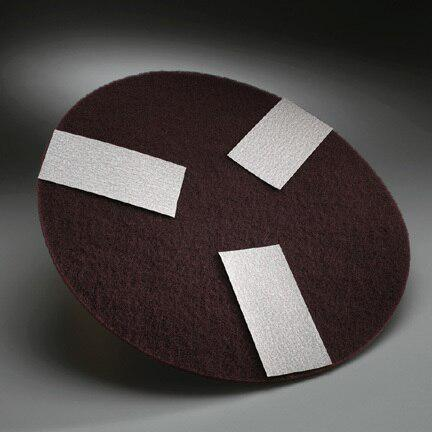 "Norton Abrasives 16"" Medium Maroon Floor Conditioning Pads Per 10"
