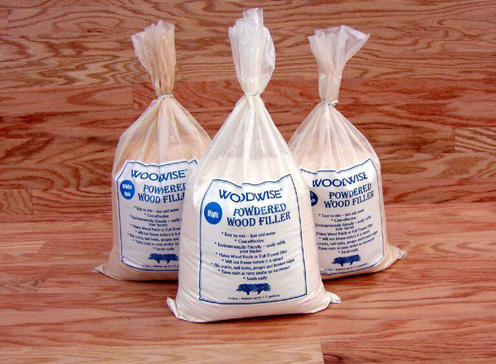 Woodwise FT301D Powdered Wood Filler - White Oak - 14 lb Bag