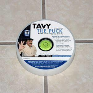 Tavy Tile-Puck Lippage Detector & Marble Leveler