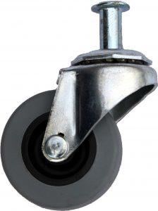 R10063 Racatac 3in Replacement Caster With Connector Nut