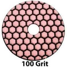 "RTC Products GP4DRY100 4"" Dry Diamond Pad 100 Grit"