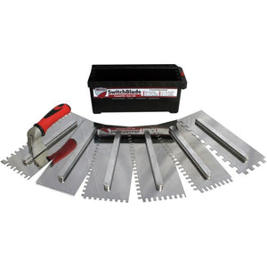 RTC Products TRSB Switch Blade Trowel Set