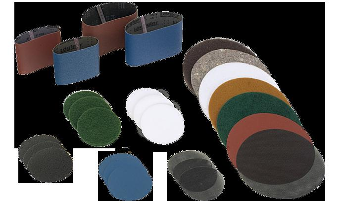 "Lagler Trio Sander 80 Grit 8"" Sanding Screens - LAS880 Box of 12"